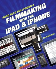 "cover of the book ""Filmmaking with the iPad and iPhone"""